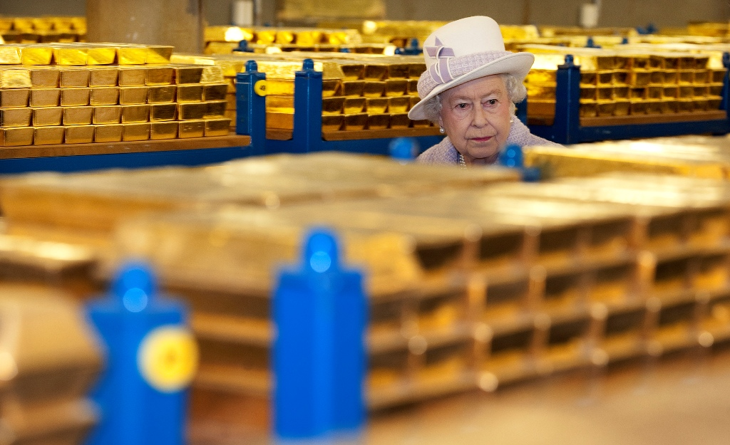 Britain Queen Elizabeth Gold Vault