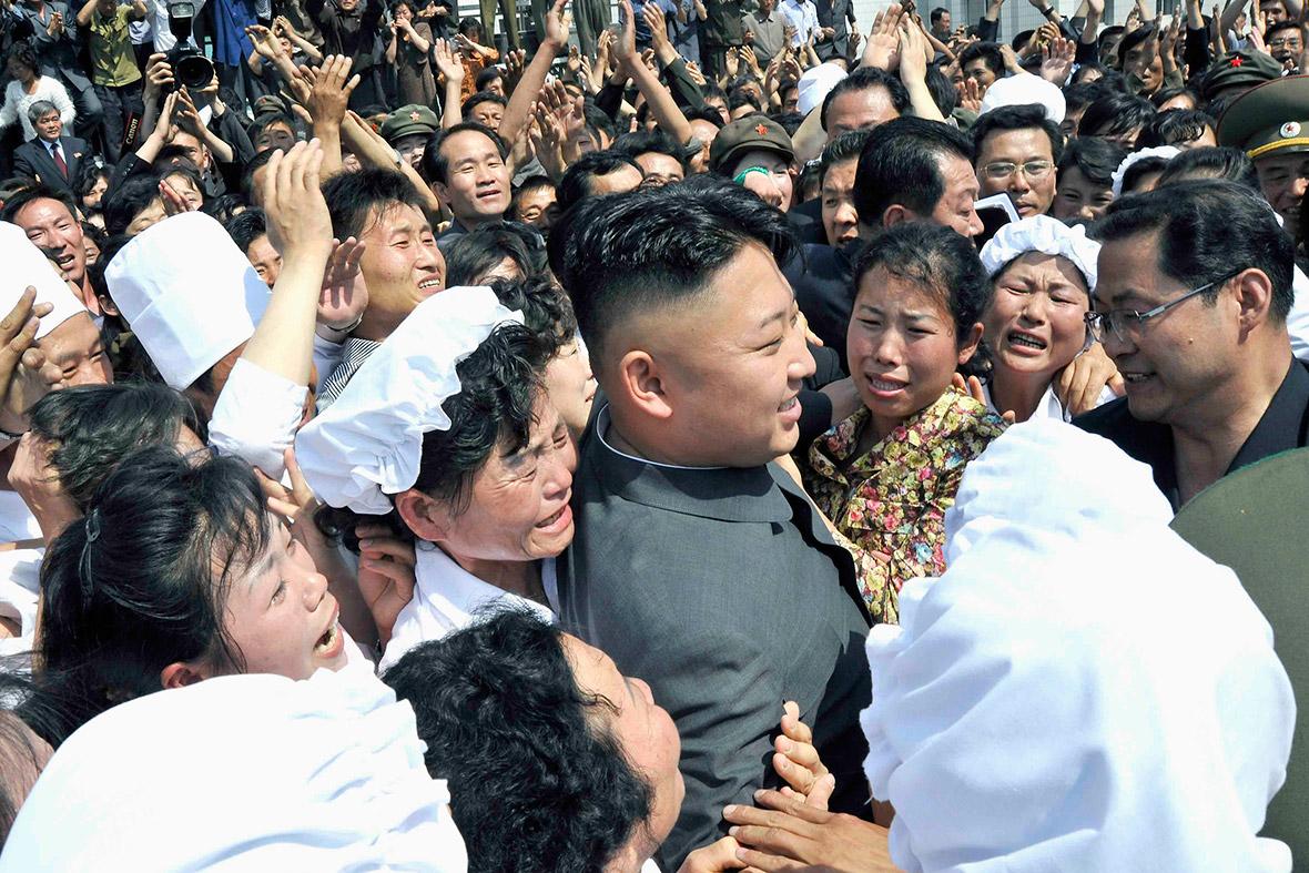 North korea kim jong un women not
