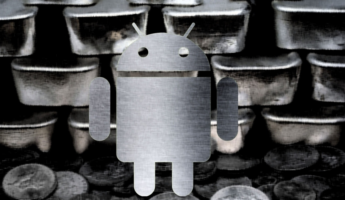 Google Android Silver