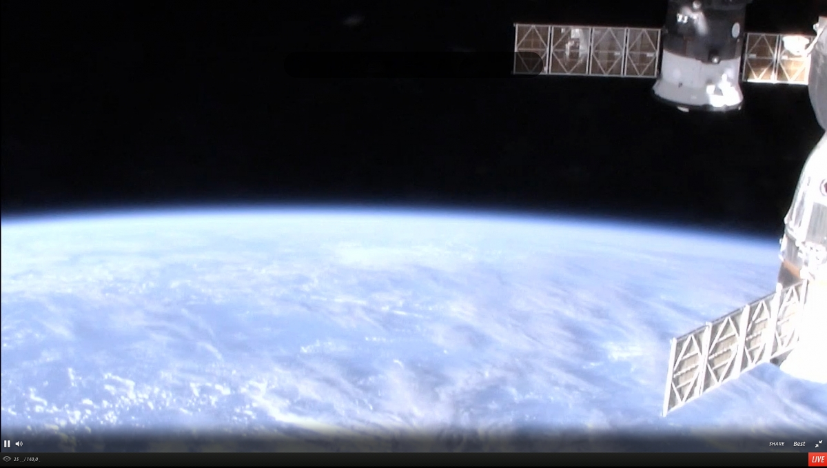 High Definition Earth Viewing (HDEV) experiment from the International Space Station