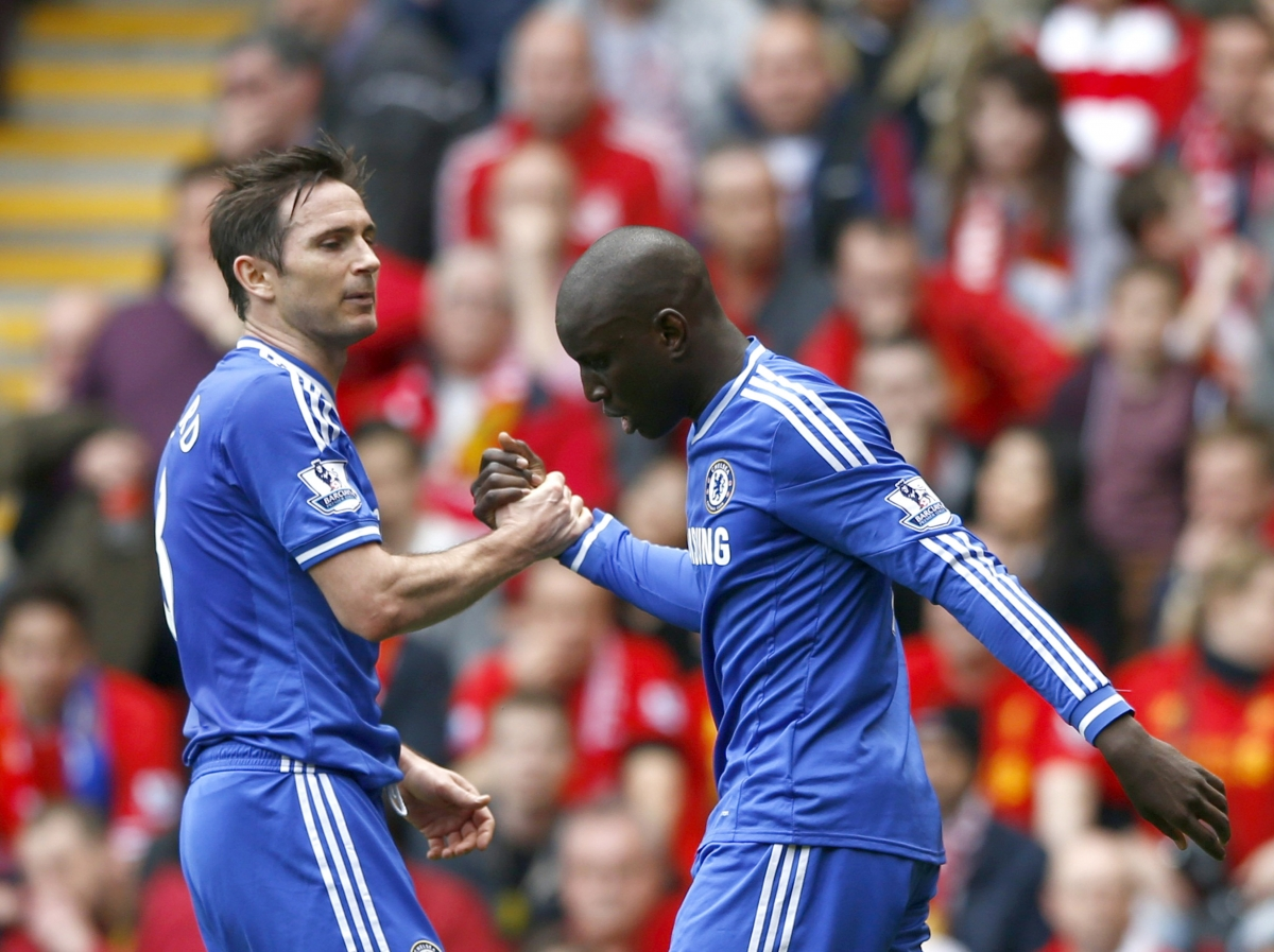 Frank Lampard and Demba Ba