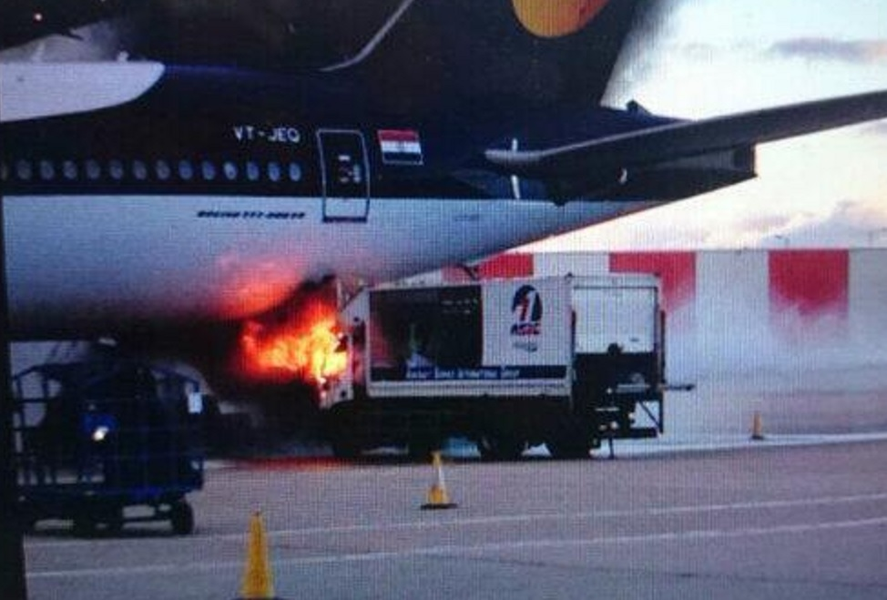 Heathrow Airport Fire: Cargo Carrier Bursts into Flames ...