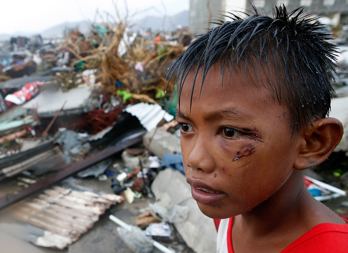 TYPHOON YOLANDA ANNIVERSARY-eye