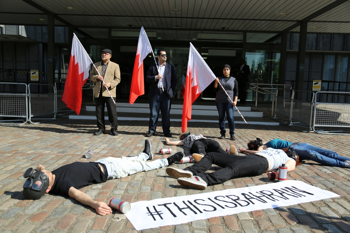 Bahraini Pro-Democracy Activists Stage Protest against King Hamad