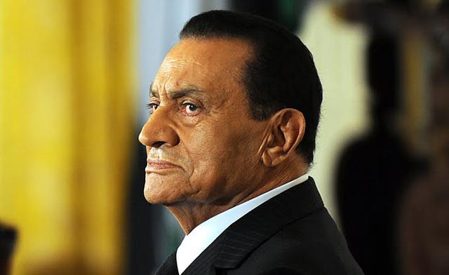 Egypt President Mubarak Former Egypt President Hosni