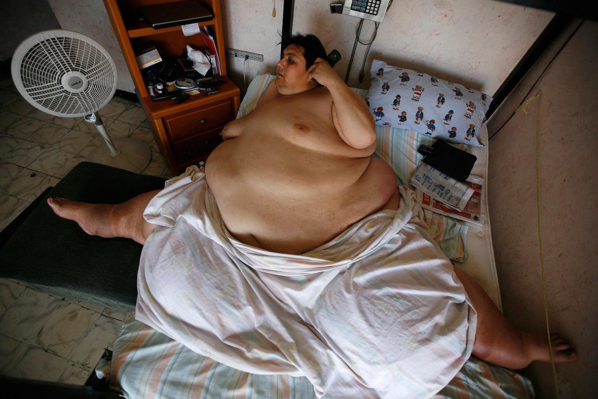 Fattest Person in Britain Britain's Fattest Man Carl