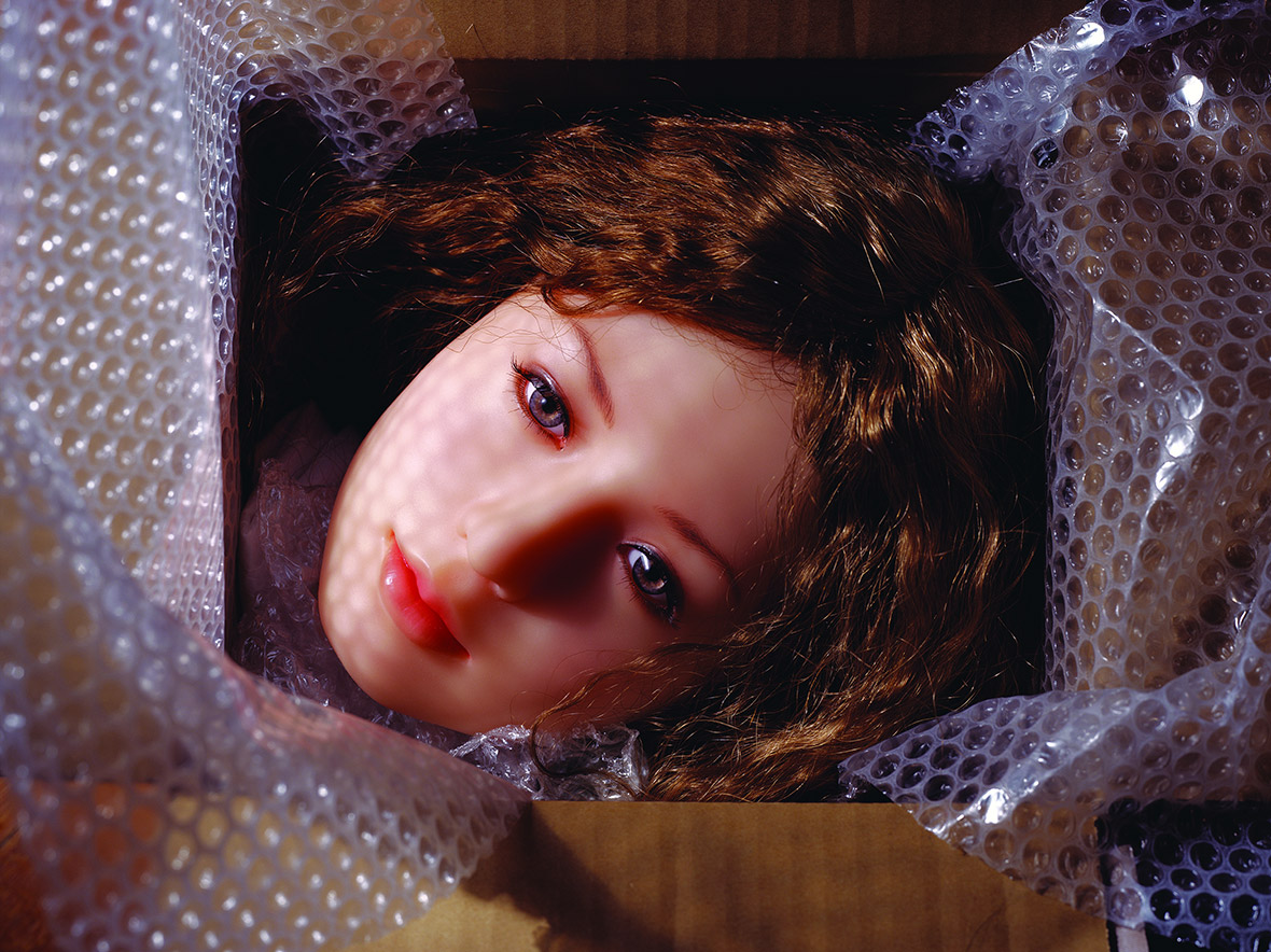 The Love Doll  Day 27  Day 1 New in Box. Head 2010, Cornwall, Connecticut, United States Series The Love Doll 133.4 x 177.8 cm, Digital C-print