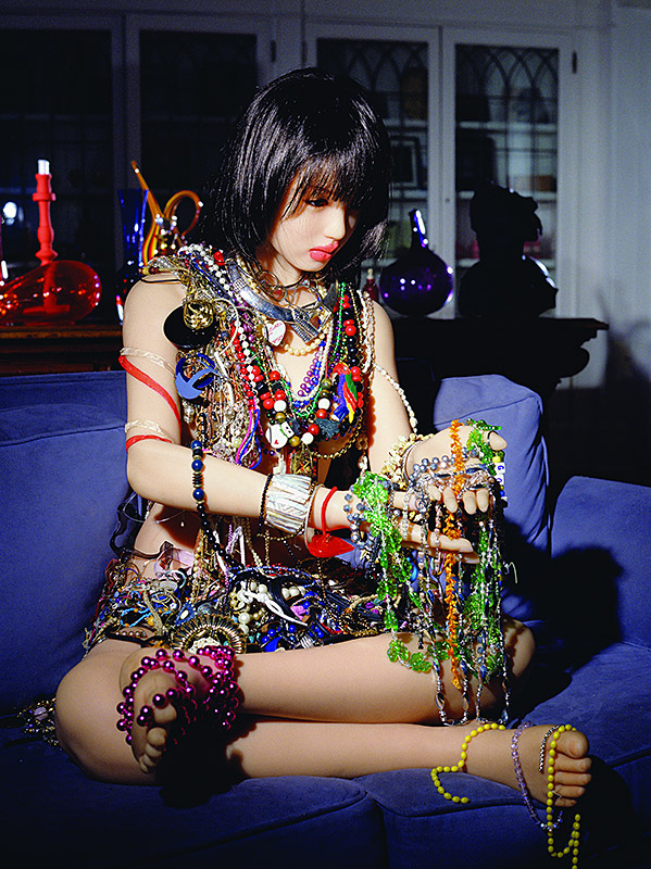 The Love Doll  Day 22 20 Pounds of Jewellery 2010