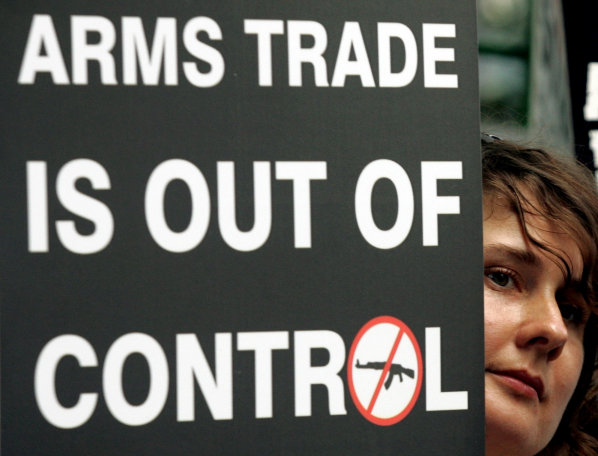 arms trade The arms trade treaty | resources about the arms trade treaty - regulating international trade in conventional arms - and its member countries, the signatory states.