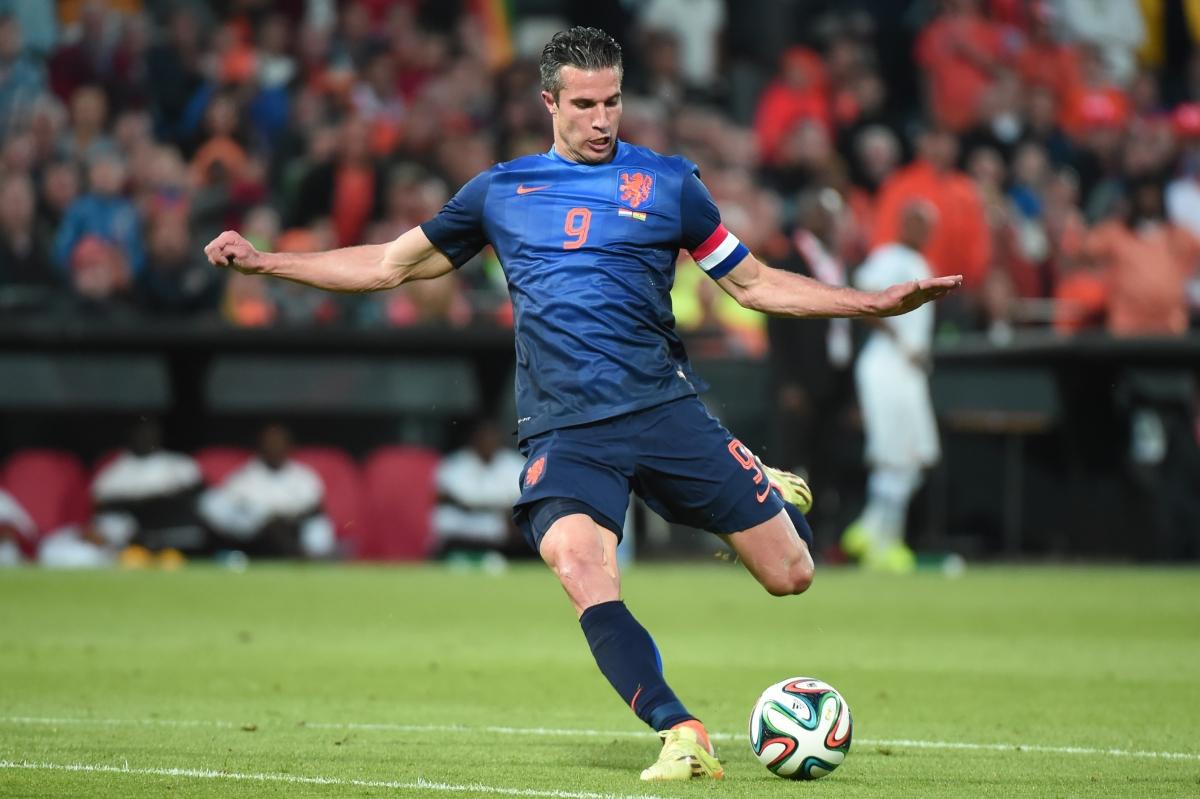 Klass Jan Huntelaar Criticises Manchester United Striker Robin van