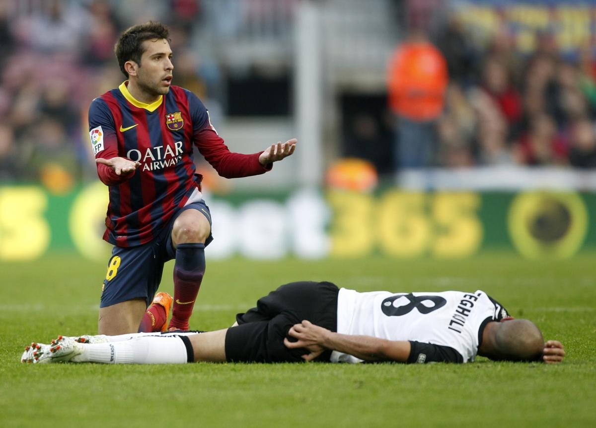 Manchester United Plan Bid For Barcelona Duo Jordi Alba And Alexis