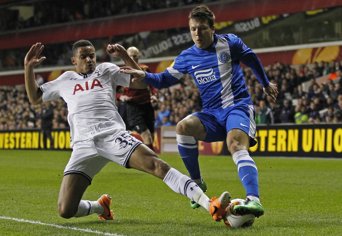 Tottenham open talks with Dnipro winger Yevhen Konoplyanka