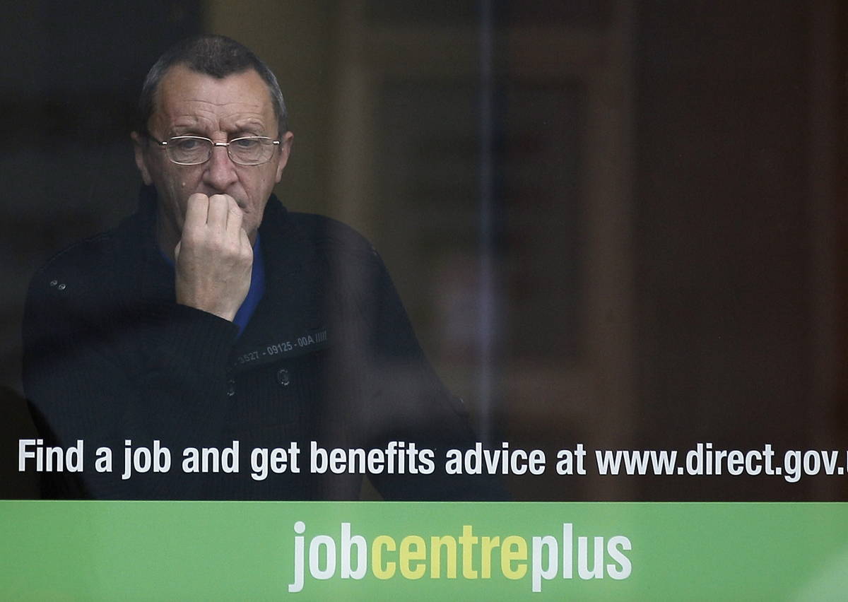 Job Centre Man