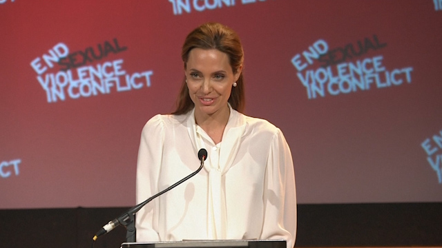 Hague, Jolie Launch Protocol to Deal with Sexual Violence in Conflict