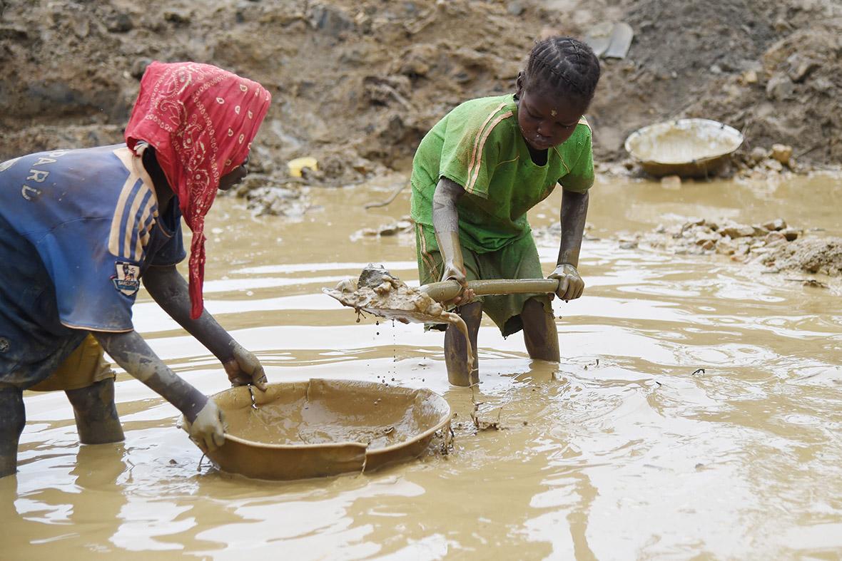 child labour central african republic