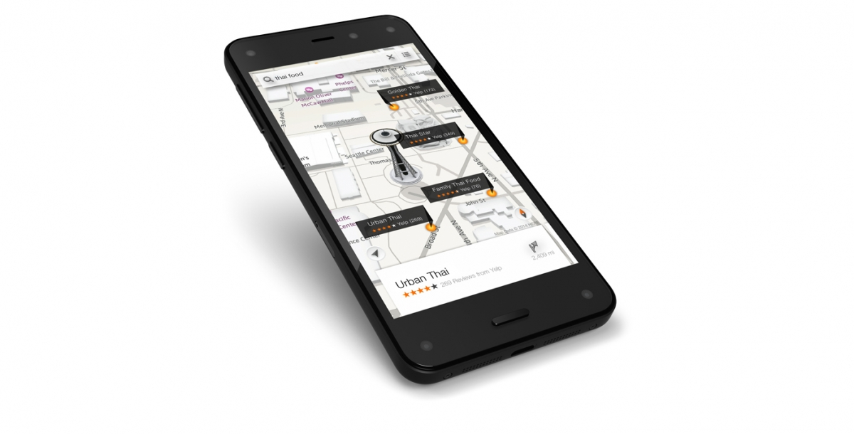 amazon fire phone 3d smartphone
