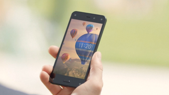 Fire Phone: Amazon Launches 3D Interface Smartphone
