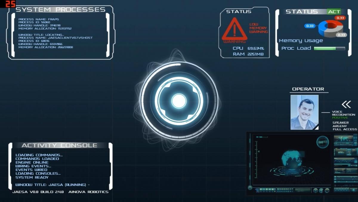 Jaesa Help Bring Iron Man 39 S Jarvis Virtual Personal