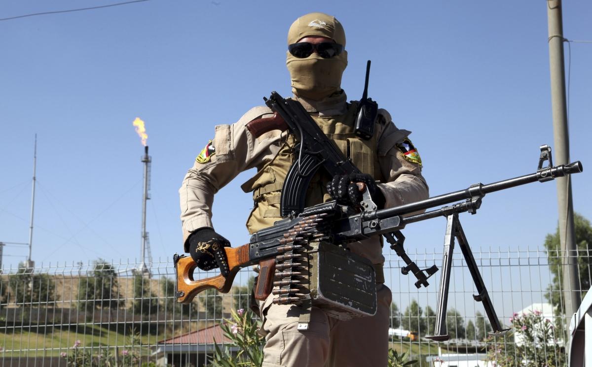 Iraq Kurd oil refinery mosul