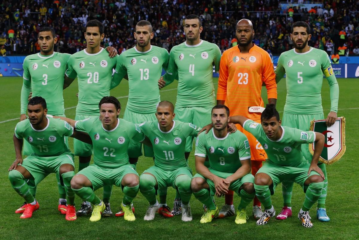 Algeria at the FIFA World Cup
