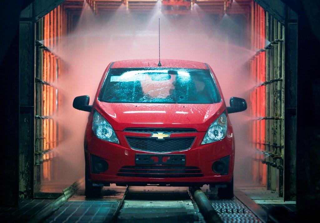 gm recalls 27 000 spark cars in korea to fix transmission. Black Bedroom Furniture Sets. Home Design Ideas