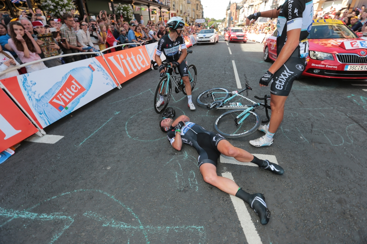 tour de france 2014 mark cavendish out after opening day