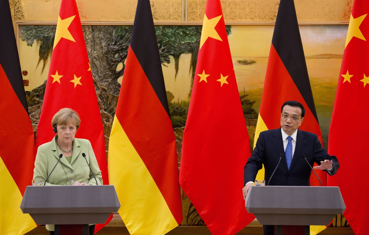 Angela Merkel China