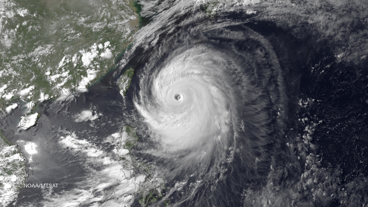 Japan Typhoon Neoguri