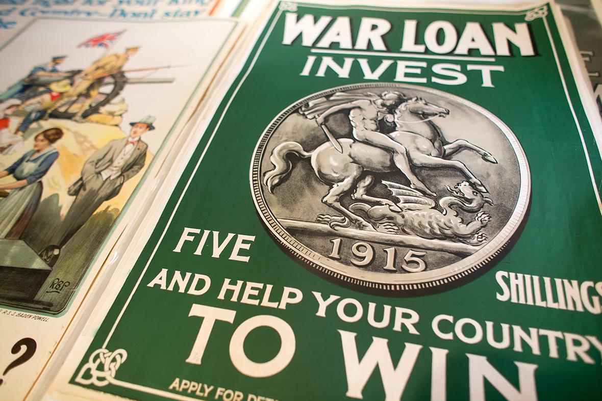 World War One recruitment posters