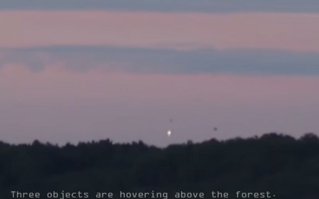 UFO activity in Dordogne, France