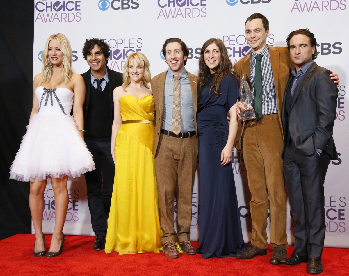 "The cast of ""The Big Bang Theory"""