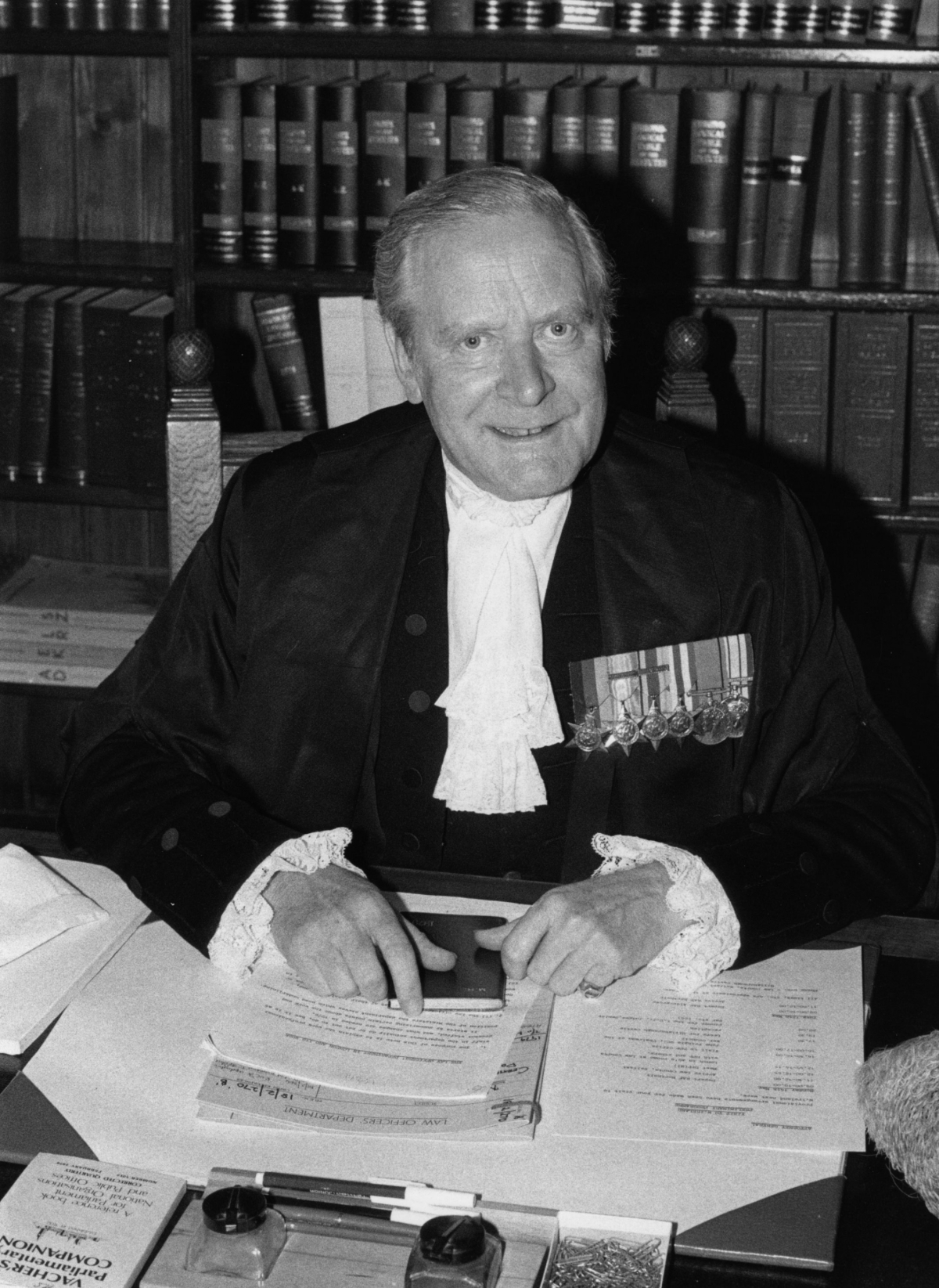 Sir Michael Havers, who died in 1992, was the Attorney General for England and Wales from 1979-1987