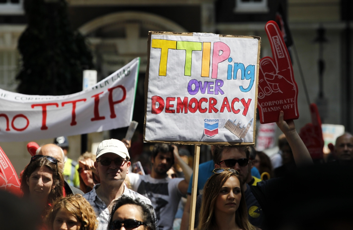 Anti-TTIP protests
