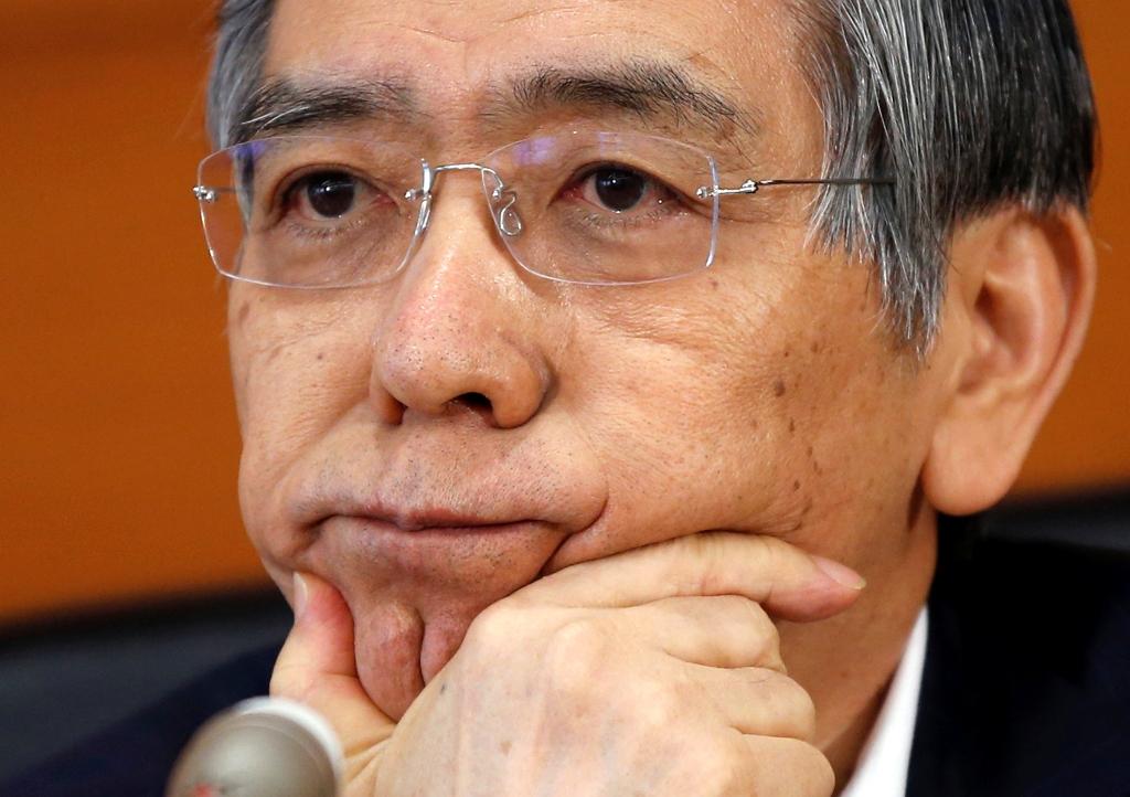 BoJ Governor Haruhiko Kuroda.
