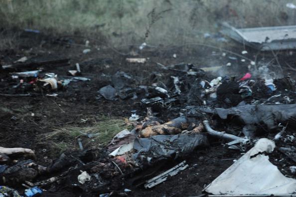 crash Ukraine plane