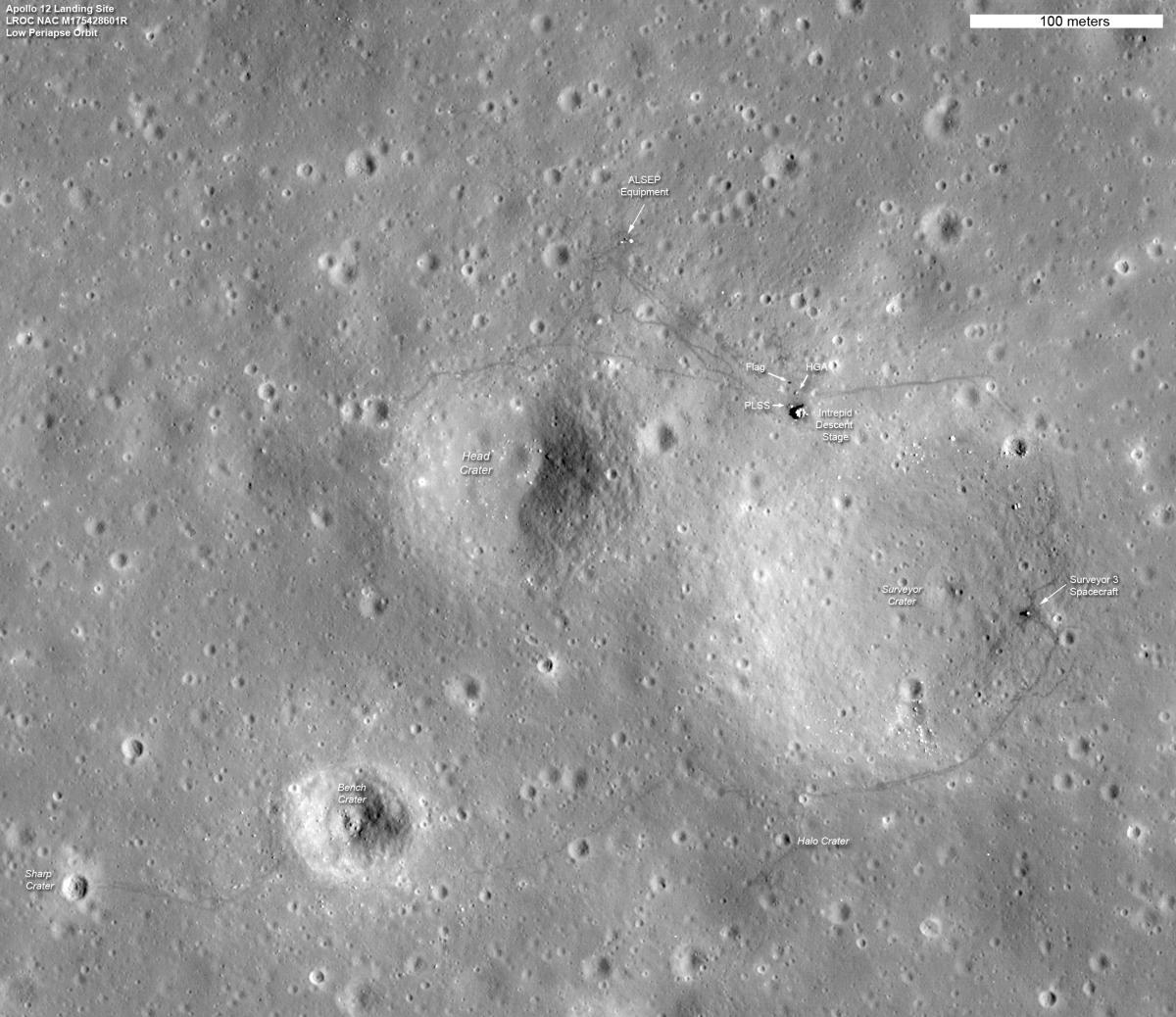 moon landing sites - photo #21