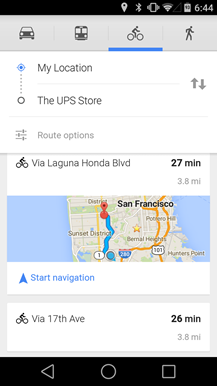 Google Maps for Android now Updated to Feature new Voice Commands and 'Biking Elevation' Enhancements