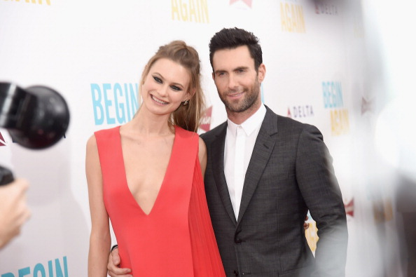 Adam Levine and Behati Prinsloo are married.