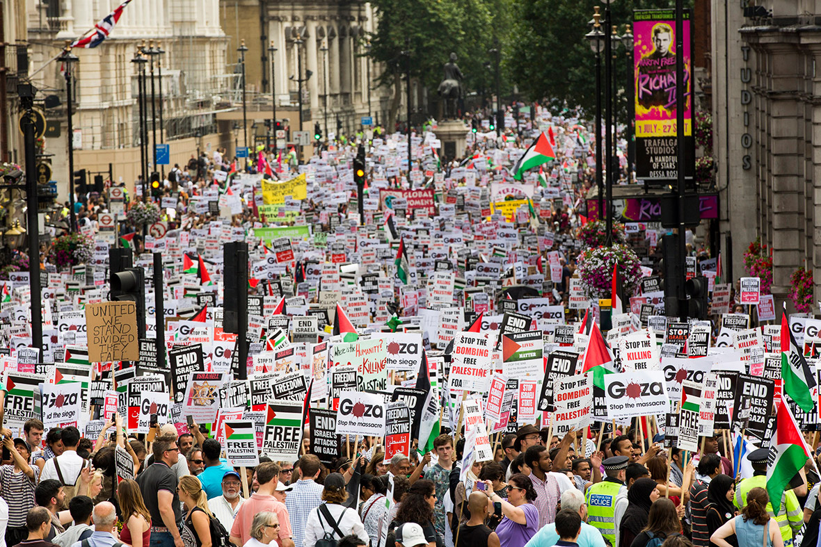 gaza protest London