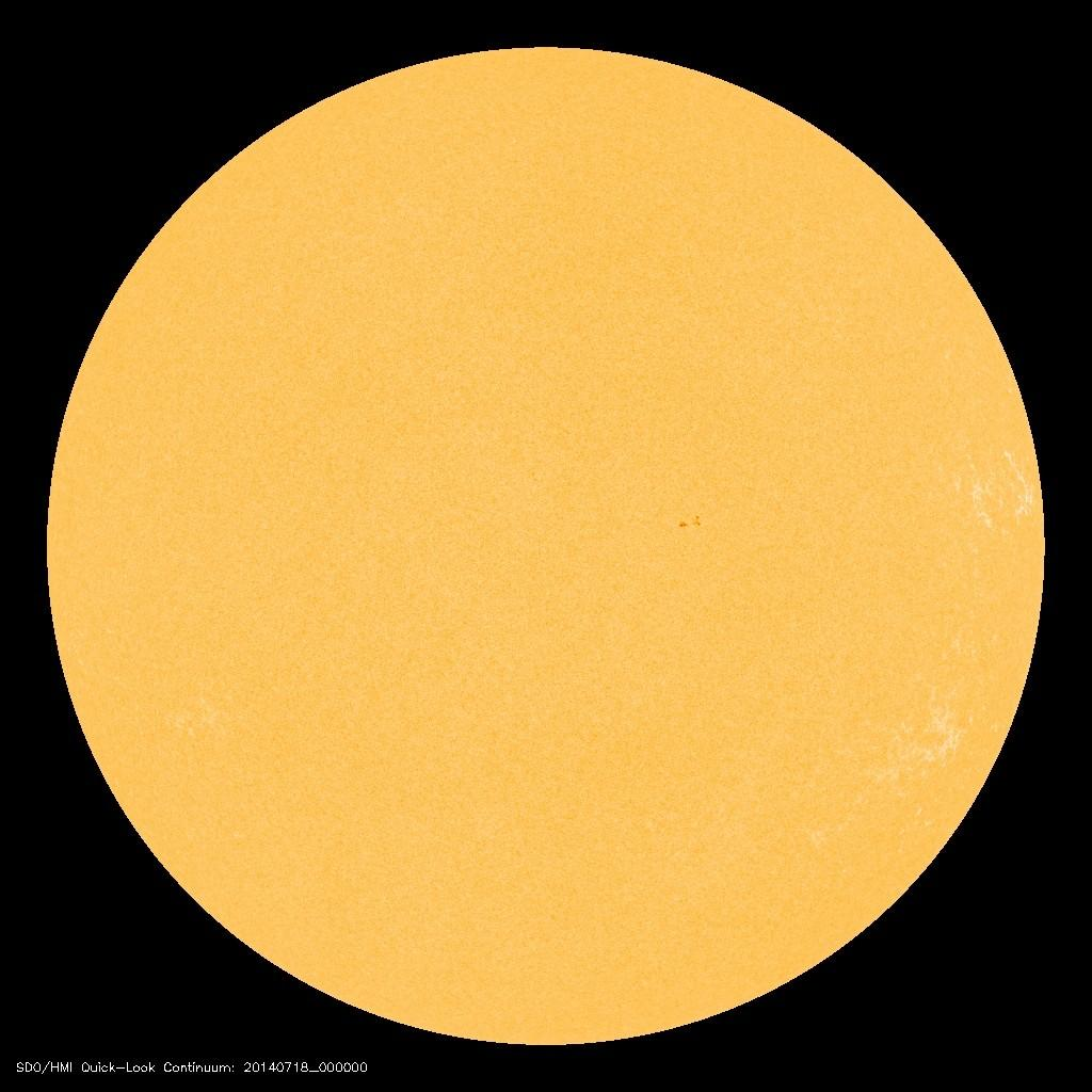 sun without sunspots
