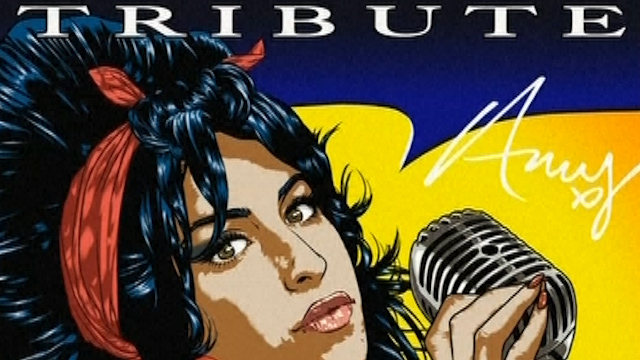 Comic Book Pays Tribute to Late Singer Amy Winehouse