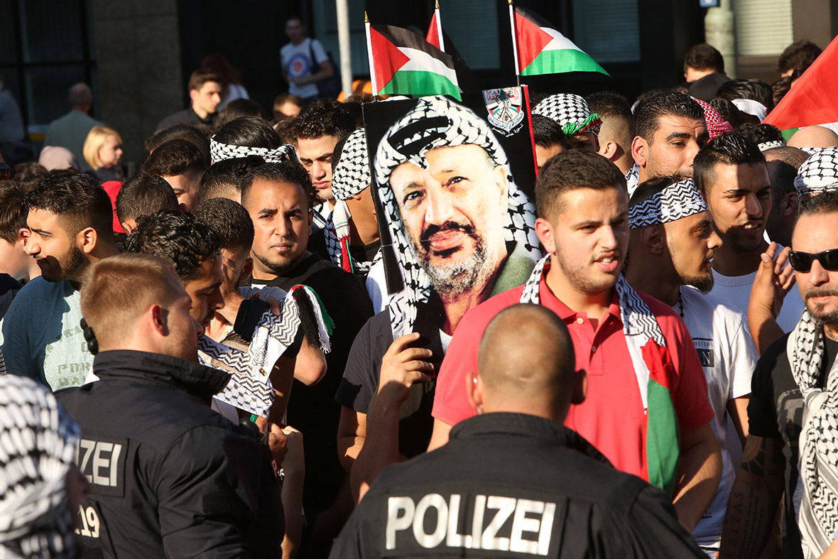 gaza protest germany