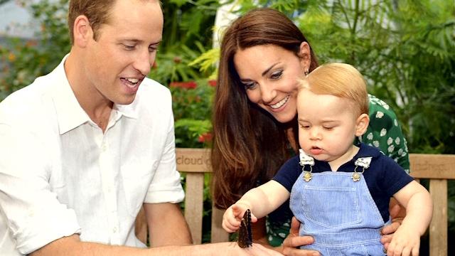 Prince George Celebrates his First Birthday