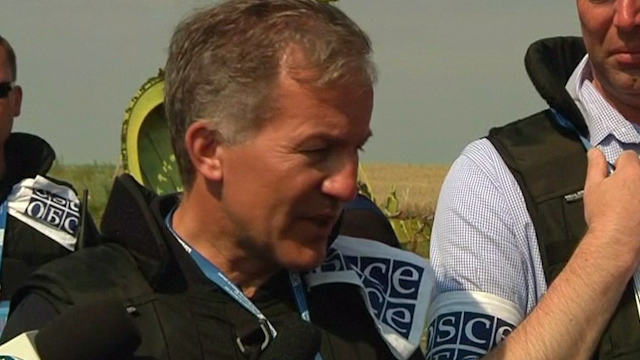 OSCE: Safety Remains a Factor in MH17 Crash Investigation
