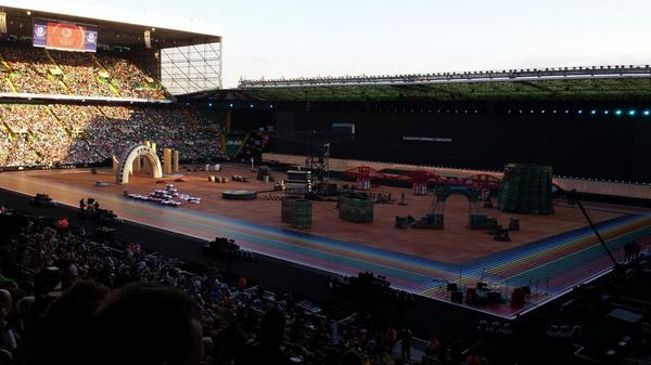 Commonwealth Games opening ce