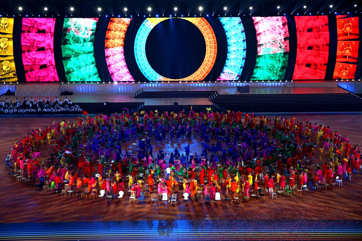 Glasgow 2014 Commonwealth Games opening