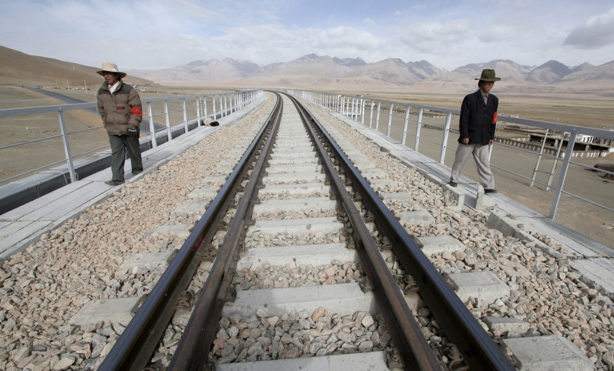 Tibet railway
