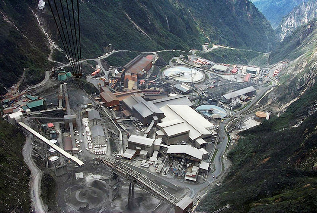 Grasberg Mining Operation Indonesia.