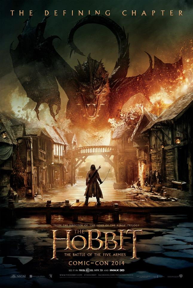 The Hobbit: The Battle of the Five Armies official poster