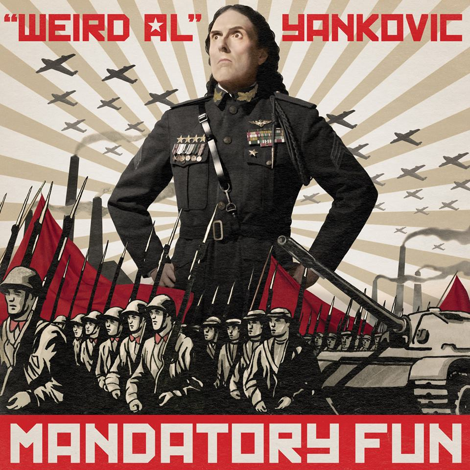 Mandatory Fun, Weird Al Yankovic's latest album, has topped the Billboard charts